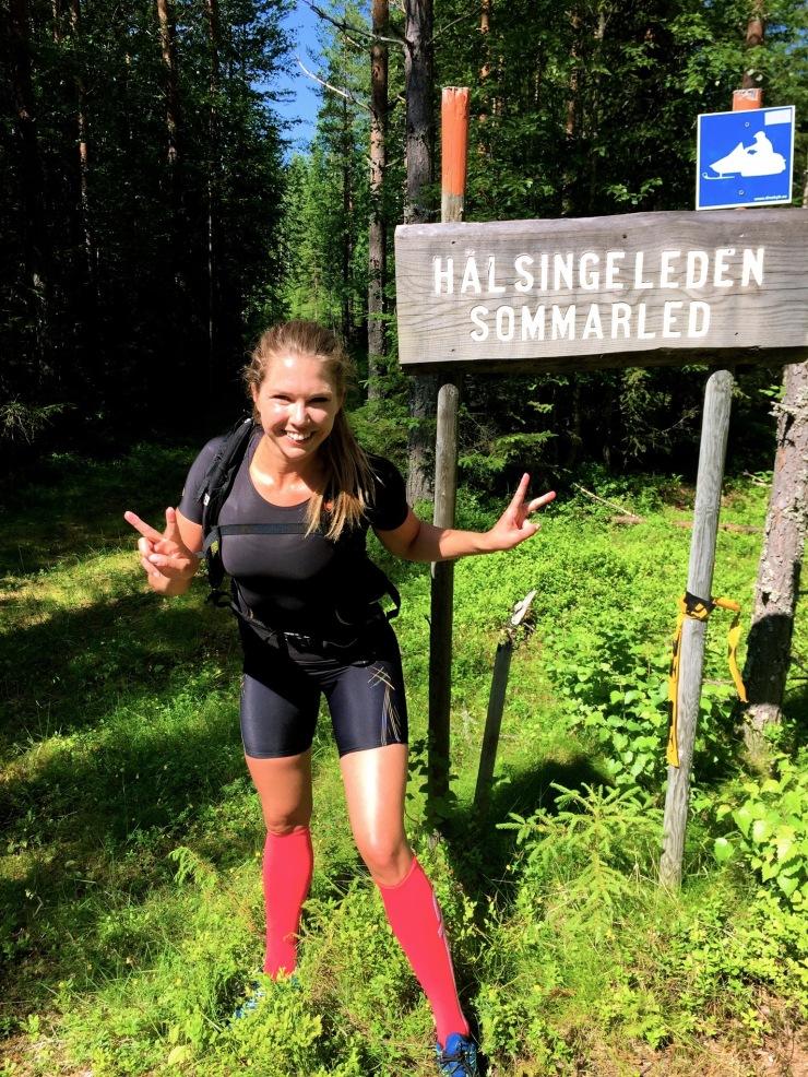 Hälsingeleden sommarled traillöpning