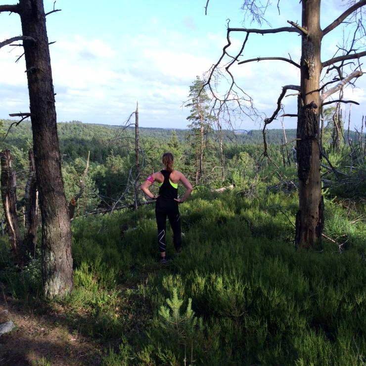 Skogen - känns oftast som min bästa vän - men ibland som min värsa fiende. Skogen är alltid densamma. Allt sitter i huvudet (och till viss del också i benen).