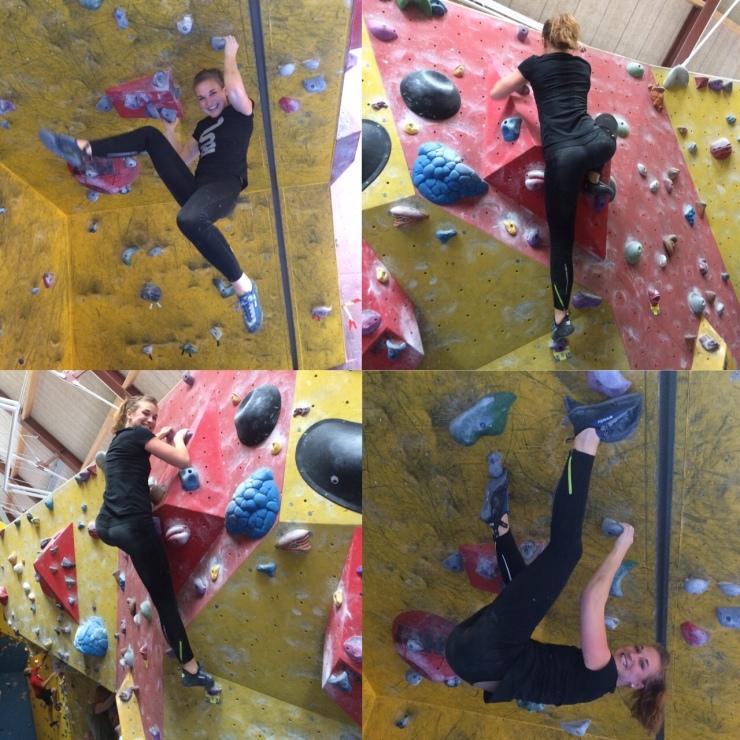 Bouldering kräver ingen förkunskap, inget kort och nästan ingen utrustning (bara skor) då du klättrar utan sele och på väggar som bara är några meter höga. Låter kanske enkelt och lite mesigt - det är det INTE!