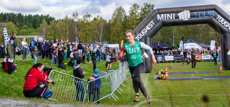 Jaktstart och final i Toughest Mini Tour 2016.